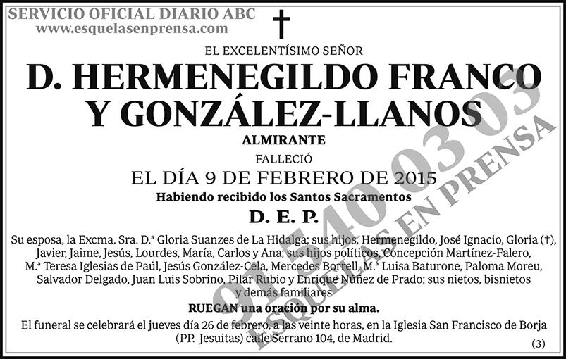 Hermenegildo Franco y González-Llanos